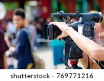 camera show viewfinder image... | Shutterstock . vector #769771216