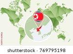 infographic for north korea ...   Shutterstock .eps vector #769795198