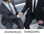 handshake manager and the... | Shutterstock . vector #769810492