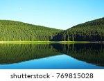 mountain lake incredible... | Shutterstock . vector #769815028