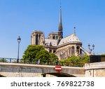 paris  france   may 9  2017 ... | Shutterstock . vector #769822738
