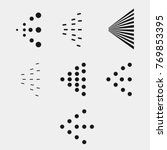 spray icons set. simple black... | Shutterstock .eps vector #769853395