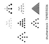 spray icons set. simple black... | Shutterstock .eps vector #769855036