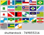 flags of the states of brazil | Shutterstock .eps vector #769855216