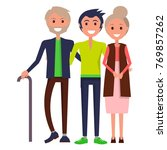 parents' day poster ... | Shutterstock . vector #769857262