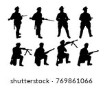 border guards. soldiers...   Shutterstock .eps vector #769861066