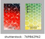 abstract geometric background... | Shutterstock .eps vector #769862962