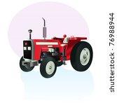 Vector Illustration  Tractor...