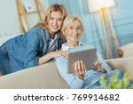 happy together. lovely... | Shutterstock . vector #769914682