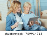interested. young happy... | Shutterstock . vector #769914715