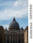 st. peter s basilica | Shutterstock . vector #769919545