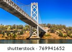 oakland bay bridge in san... | Shutterstock . vector #769941652