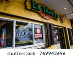Small photo of Miami, Florida / USA - June 13 2017: El Taquito Mexican Grill and Beer - Store Front at Little Havana