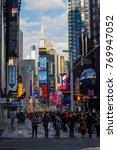 2013 12 26  tourists walking... | Shutterstock . vector #769947052