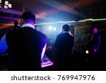 musicial music live band... | Shutterstock . vector #769947976