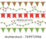 colorful hand drawn doodle... | Shutterstock .eps vector #769972906
