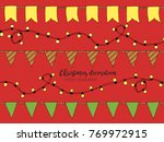 colorful hand drawn doodle... | Shutterstock .eps vector #769972915