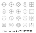 collection of  flat simple... | Shutterstock . vector #769973752