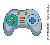 video game control isolated icon | Shutterstock .eps vector #769978162