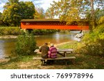 Henry Covered Bridge  Near...