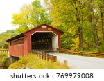 Silk Road Covered Bridge With...