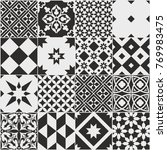 Seamless Pattern Of Tiles....