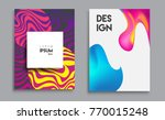 covers templates set with... | Shutterstock .eps vector #770015248
