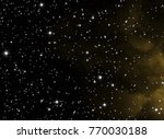 deep space star field. universe ... | Shutterstock . vector #770030188
