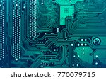 Circuit Board. Electronic...