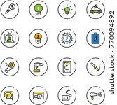 line vector icon set   money...   Shutterstock .eps vector #770094892