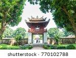 hanoi vietnam   november 1 2017 ... | Shutterstock . vector #770102788