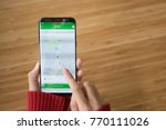 Small photo of Chiang Mai,Thailand - NOV 20, 2017 :woman holding Samsung Galaxy S8+ with grab taxi driver app on the screen,Grab taxi Many Thailand people are attracted to join the ride sharing services business.