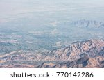 beautiful view of palm springs...   Shutterstock . vector #770142286