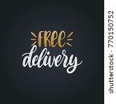 vector handwritten phrase of... | Shutterstock .eps vector #770150752