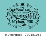 hand lettering and without... | Shutterstock .eps vector #770151058