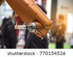 industry 4.0 robot concept .the ... | Shutterstock . vector #770154526