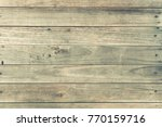 old wood plank wall background... | Shutterstock . vector #770159716
