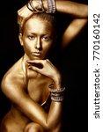 close up portrait of an...   Shutterstock . vector #770160142