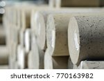 concrete cylinder and concrete... | Shutterstock . vector #770163982