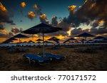 Georgioupolis Beach At Sunrise...