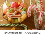 bank with bright candy. the joy ... | Shutterstock . vector #770188042