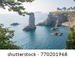 jeju island panorama | Shutterstock . vector #770201968