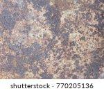 iron rust steel rust steel... | Shutterstock . vector #770205136