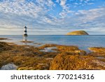 north wales coast with penmon... | Shutterstock . vector #770214316