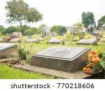 kanchanaburi  thailand  october ... | Shutterstock . vector #770218606