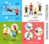 football soccer design concept...   Shutterstock .eps vector #770219836