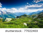 Mountain Panorama From...