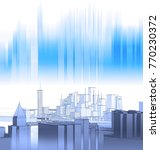city  architecture abstract  ... | Shutterstock . vector #770230372