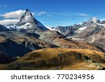 amazing view of the panorama... | Shutterstock . vector #770234956