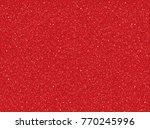 red glitter texture for new... | Shutterstock .eps vector #770245996